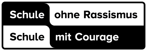 """Wort-Bildmarke """"Schule ohne Rassismus, Schule mit Courage"""""""