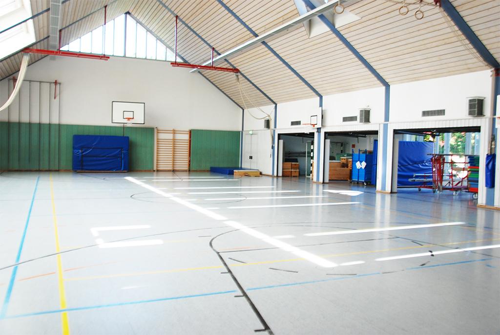 Turnhalle der Mangfallschule Kolbermoor