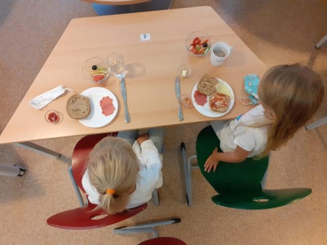 Schulfrühstück an der Mangfallschule